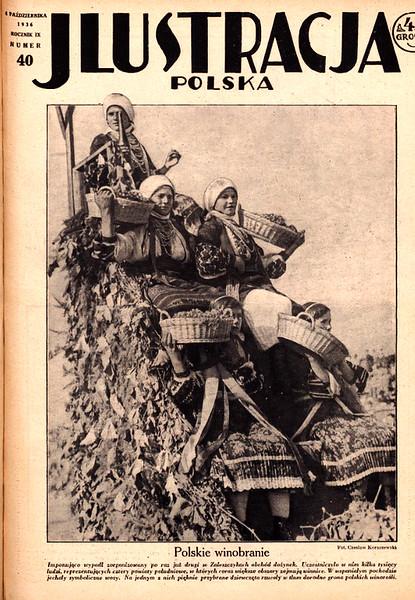 """587. Тижневик  JLUSTRACJA POLSKA (""""Ілюстрація польска"""") від 4 жовтня 1936 року"""