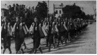262. Марш української молоді