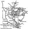 587. Схема розташування російських армій в грудні 1915 року