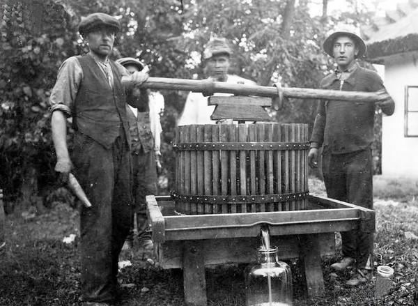 4. Виробництво вина, 1930 р.