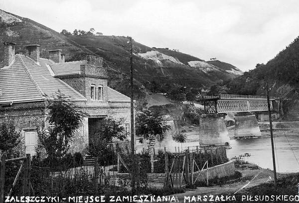 43. Будинок де перебував Й. Пілсудський, вересень 1933 року