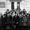 461.  Студенти технікуму з викладачами П. М. Данилюком і В.Д. Сопівником