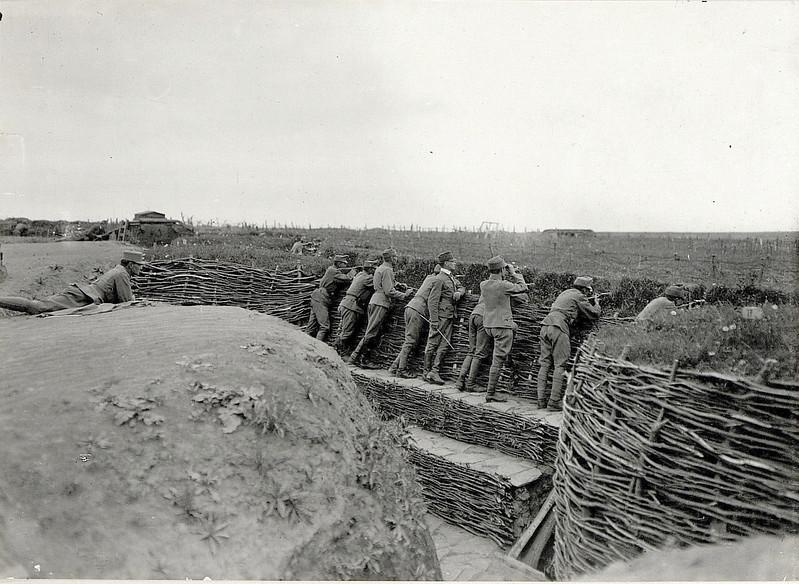 603. Стрільці на позиціях   Sch¸tzengraben bei HIR.309, Sosnow