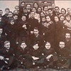 155. Отець І. Чукур з учнями-українцями гімназії , 1938 рік