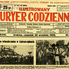 """589. Газета  ILUSTROWANY KURYER CODZIENNY (""""Ілюстрований кур'єр щоденний"""") від 26. 09. 1935 року"""
