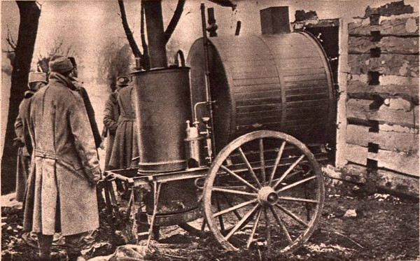 579. Дизенфекційна установка австро-угорської армії