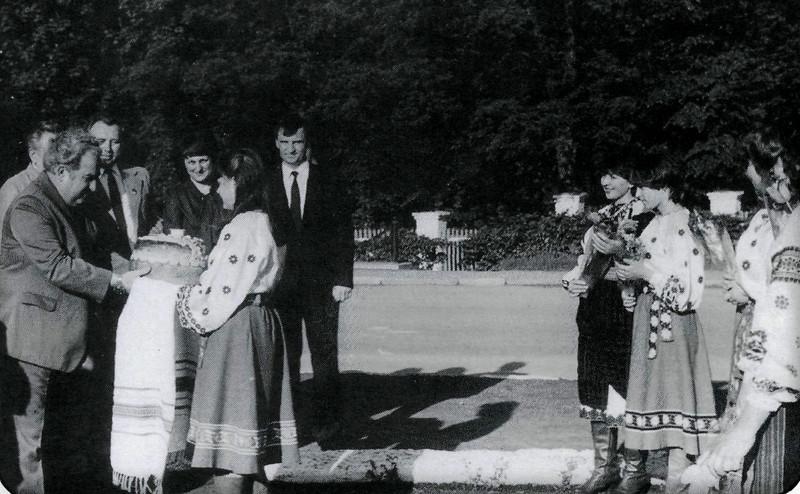 464. Зустріч болгарської делегації, 1980-і роки