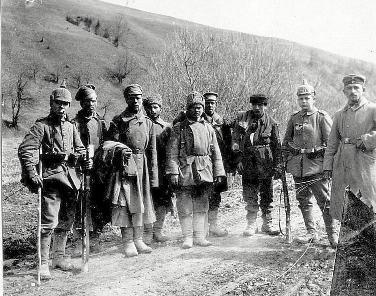 589. Епізоди фронтового життя. Russische Gefangene
