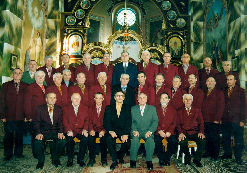 """530. Народна чоловіча хорова капела """"Гомін"""" – церковний хор"""