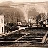 440.Вид на центральну площу з боку поштамту, 60-і роки