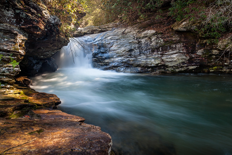 Falls on Big Panther Creek