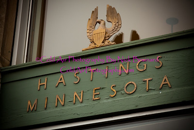 Hastings_PostalSer vice.jpg  This lovely sign above the entrance to the Hastings MN Post Office has a very epic feel. From the oxidized bronze eagle statue to the text that reads the city it is located in.