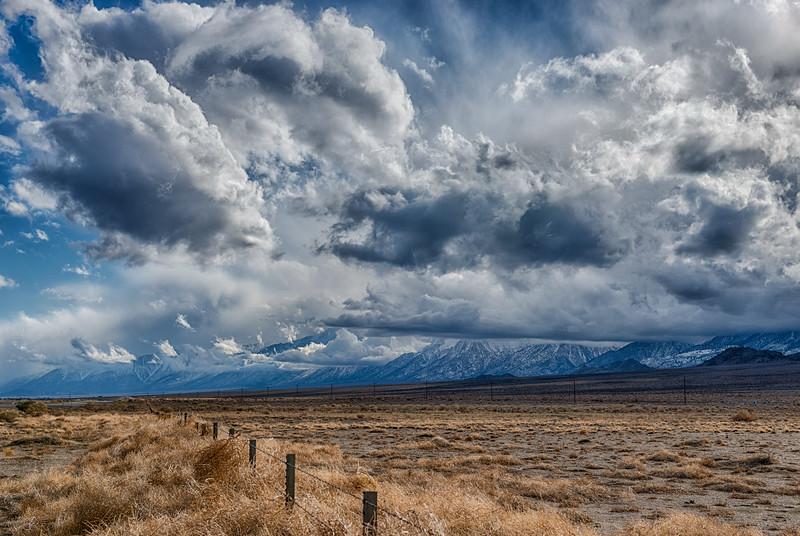 Homeward bound - Eastern Sierra; Owens Valley