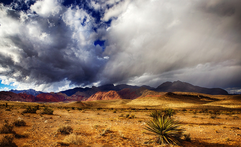 Storm over Calico