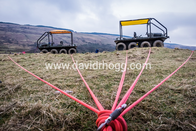Rope training today with #arranmrt #mountainrescue #arran #isleofarran