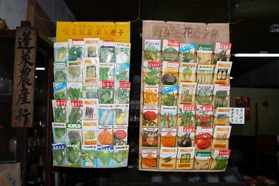 Seed display, Taipei 2019.