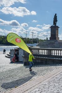 Flagman, Stockholm, May 2015