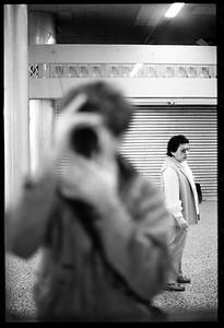 Self Portrait, New York City, 1986.
