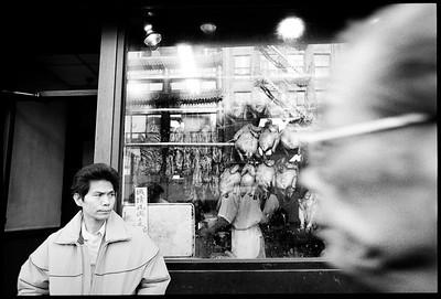 Chinatown, New York City, 1987.