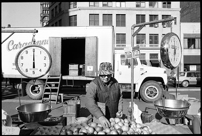 Farmer's Market Union Square Park, New York City, 1987.