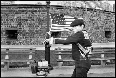 Battery Park, New York City, 1988.