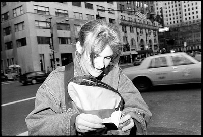 Antje, New York City, 1988.