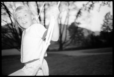 Jessica, Keene Valley NY, 1987.