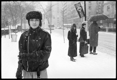 Snow Storm, New York City, 1989.