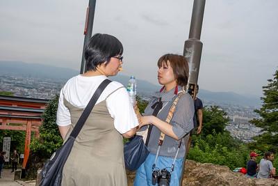Tourists, Fushimi Inari-taisha, Kyoto 2019.