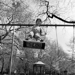 Tompkins Square Park, New York City, 1987.
