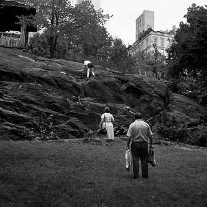 Climbing, Central Park, 1988/89.