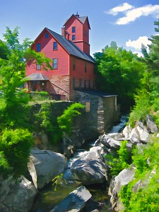 Jericho Bike Tour The Old Mill, Jericho, VT