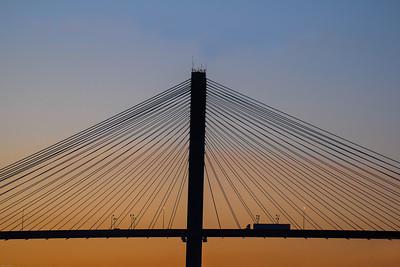 Talmadge Bridge, Georgia