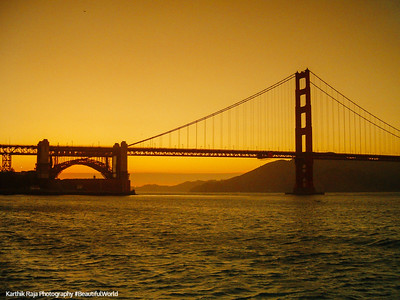 The Golden Gate Bridge, Golden Gate National Recreation Area, San Francisco, California