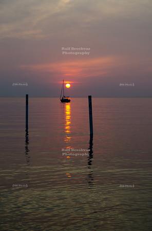 Sunset in Holland, Michigan