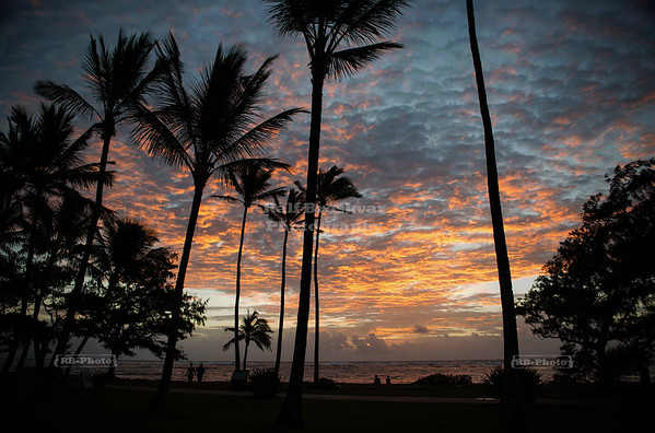 Sunrise on Kaua'i