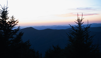 Blue Hour at Mount Mitchell, North Carolina, USA