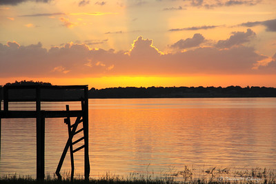 Sunset on Lake Minnehaha, Clermont, FL