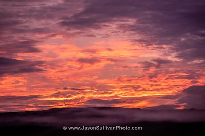 Sunset Cloud and Mist