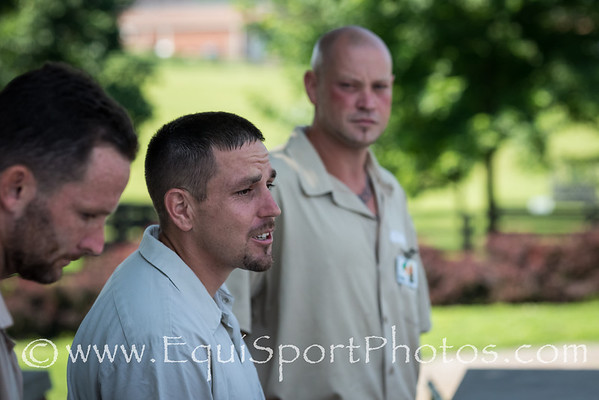 The inmates at the TRF's Blackburn Correctional Facility share parts of their daily routine with visitors at an Open House 6.25.13.