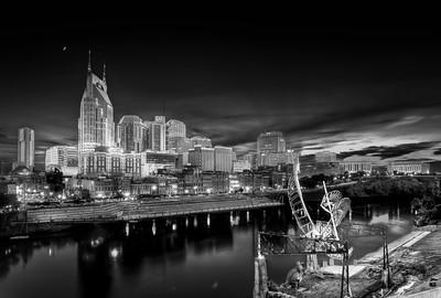 Nashville in Black & White 1