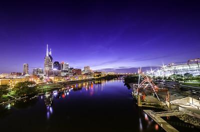 Nashville Cityscape 1