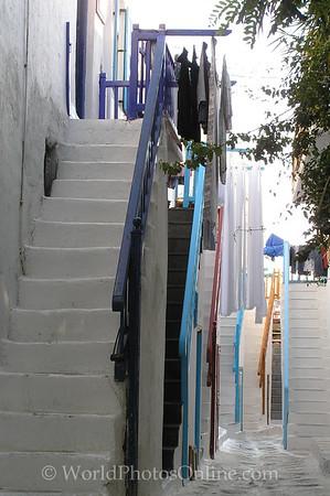 Mykonos - Stairs