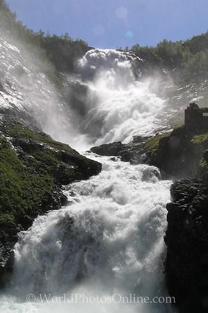 Flam - Kjosfossen Waterfall