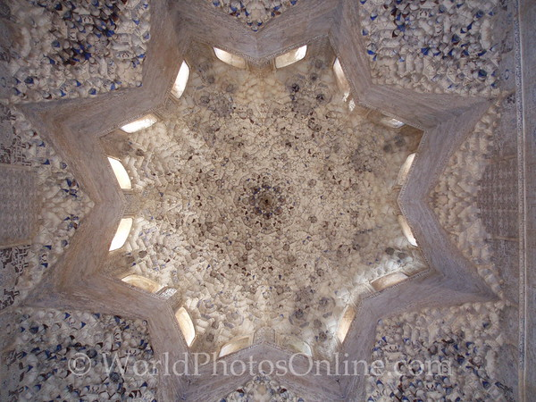 Alhambra - Nasrid Palace - Lions - Hall of Two Sisters 1