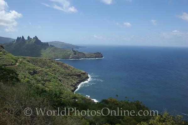 Marquesas - Nuku Hiva - Northern Coast Line