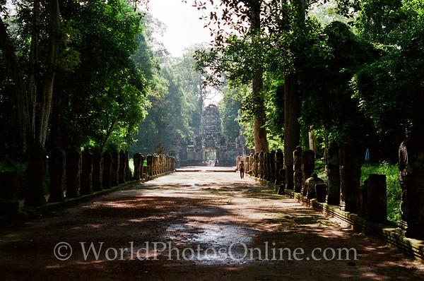 Siem Reap - Preah Khan - Processional Walkway