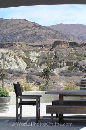 Central Otago - Placer Mining Remnants at Mt Difficulty Vineyard