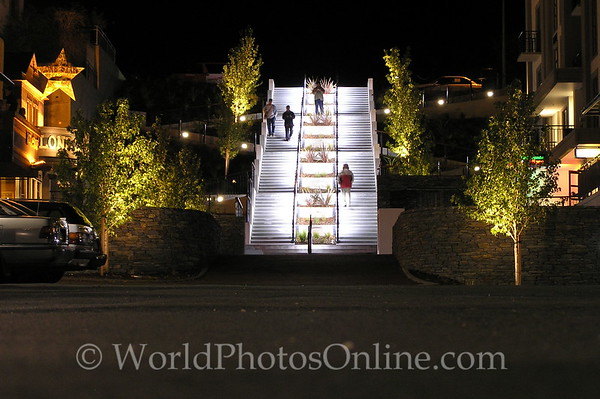 Queenstown - Stairs at Night