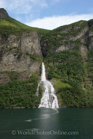 Geiranger Fjord -  The Suitor Waterfall 2